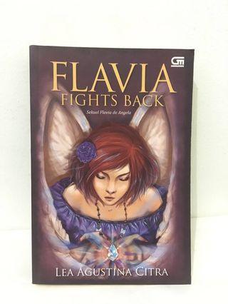 Novel, gramedia, flavia fights back, flavia, buku