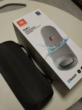 JBL Flip 4 Bluetooth Speaker + Case