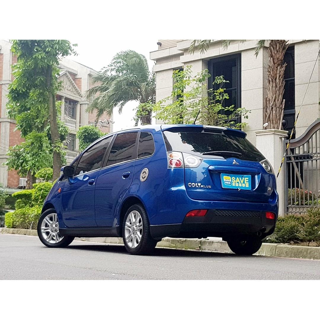 2012年 三菱 colt plus io 1.6 一手女用車僅跑七萬 認證車購車再送一年兩萬公里 車況超優