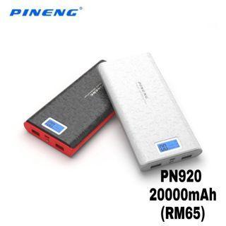 100%ORIGINAL Pineng Power Bank PN 920 20000mAh