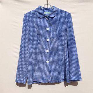 VINTAGE 90s CUTE SECRETARY BLOUSE