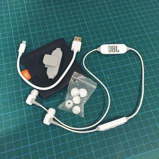 JBL E25BT Wireless In-Ear Headphones (White)