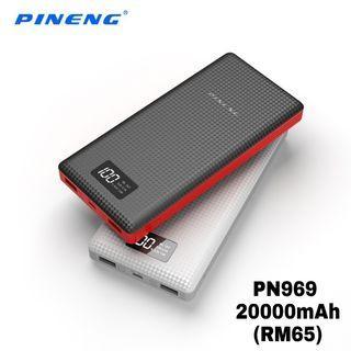 100% ORIGINAL Pineng Power Bank PN 969 20000mAh