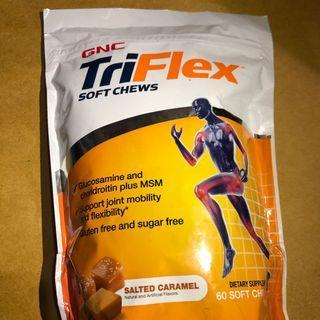 GNC TriFlex Soft Chews 軟骨素 關節痛 關節骨骼 營養補充品