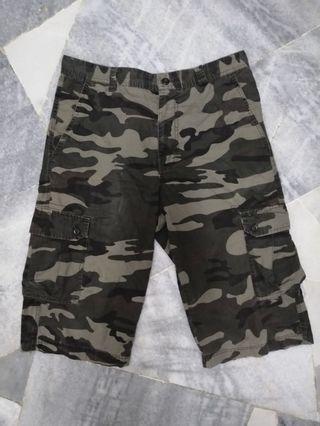 Camo 3q Shorts pants