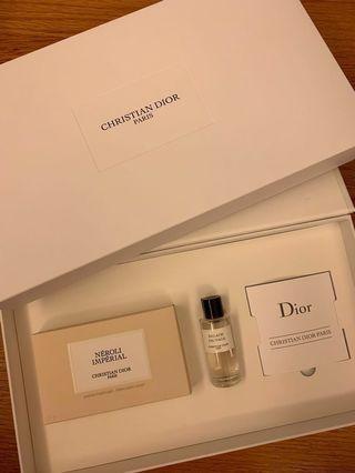 CD Dior VIP Set Perfumed Soap & Balade Sauvage EDP