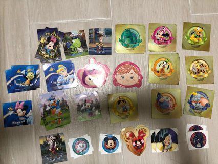 迪士尼貼紙 stickers