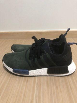 NMD R1 Core Black Suede Pack