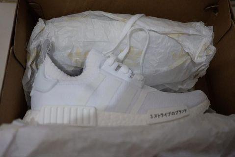Adidas NMD R1 PK Triple white