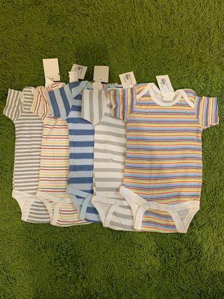 Clearance stock- short sleeve rompers for babyboy