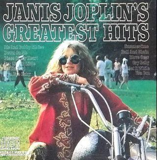 arthcd JANIS JOPLIN Greatest Hits CD