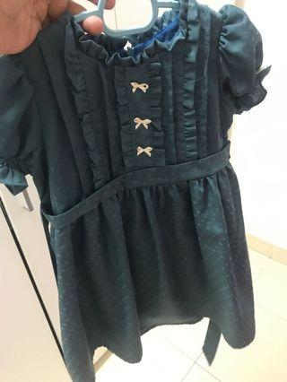 Lovely Lace Dress(Emerald Green)