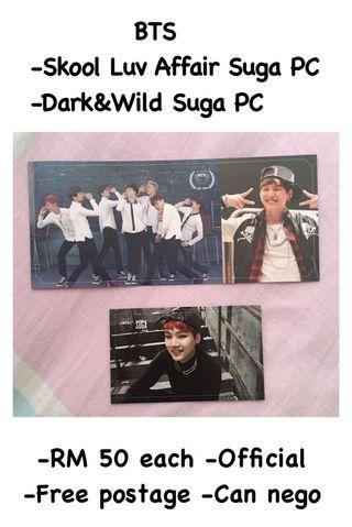 BTS Skool Luv Affair/Dark&Wild - Suga PC