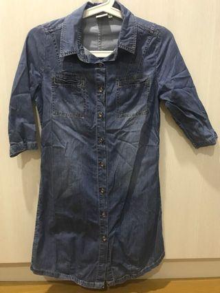 Denim dress size 36