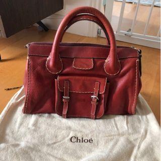 Rouge Chloe leather bag