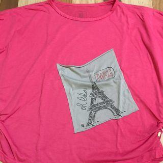 Kaos Kelelawar Pink