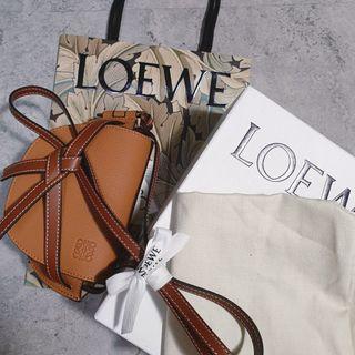 <二手良品> Loewe Gate Mini bag 迷你 斜揹 手拿 包