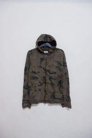 Zara Man Camouflage Hoodie