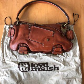 Tan Loyd Maish leather bag