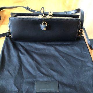 Black Alexander Wang leather bag