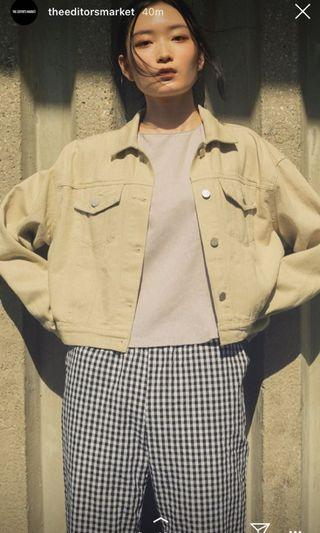 TEM denim jacket inspired