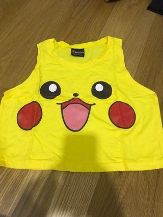 Queen pikachu top