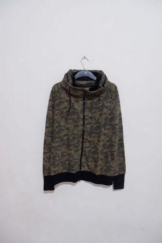 Sweater Hoodie Camouflage