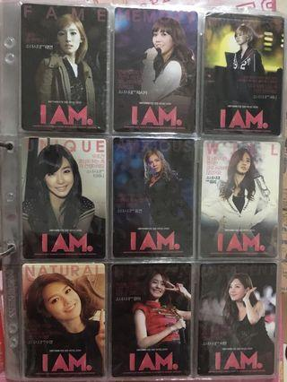 Girls Generation I AM Official Photocard