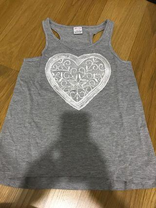All 4 me grey top