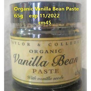 Organic Vanilla Bean Paste