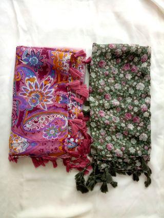 Bawal Floral Printed Rambu