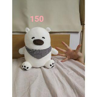 【新】白色熊熊