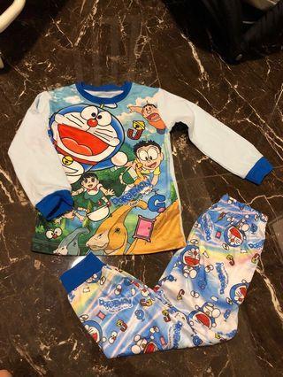 🚚 Cuddle Me Doraemon Kids Pyjamas