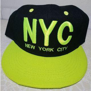 NYC snapback cap