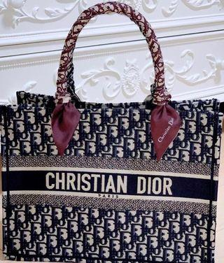 CD Dior Mini Small Book Tote Bag