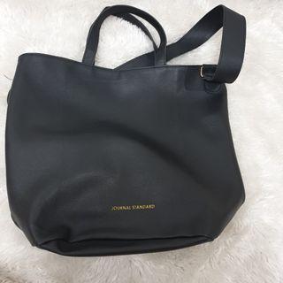 Journal Standard Black Tote Bag