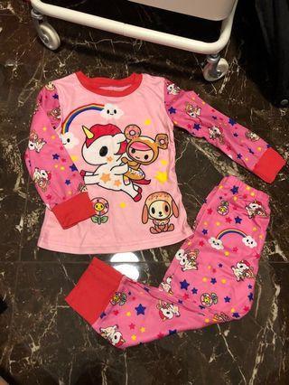 🚚 Kids Pyjamas Tokidoki Unicorno