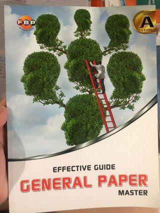 General Paper jc assessment book