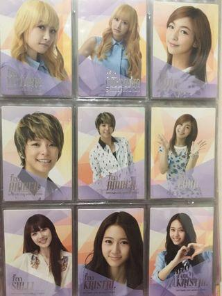 f(x) SM Town Official Photocard