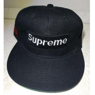 Supreme Black Snapback Cap