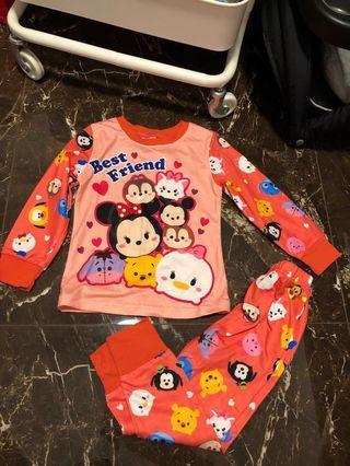 🚚 Tsum Tsum Long sleeve Pajamas