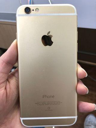 🚚 Apple iPhone 6 32G 金 二手機