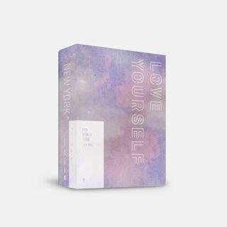 (Direct shipping) BTS World Tour Love Yourself DVD New York/Europe