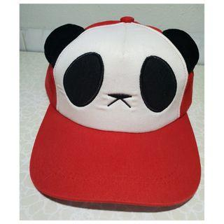 Red Panda Snapback Cap