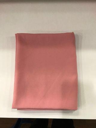 #NUSENTRAL pink chiffon shawl