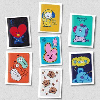 BT21 OFFICIAL DOODLING PASSPORT CASE