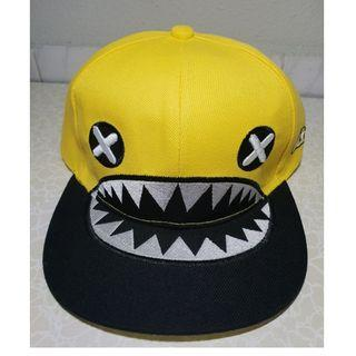 Song ji hyo Shark eye Snapback Yellow Cap