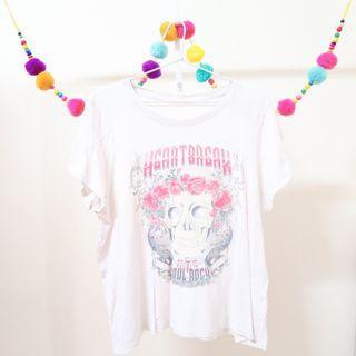 SUPRE Rock Band White T-Shirt