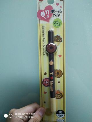 全新日本甜甜圈0.5黑色原子筆