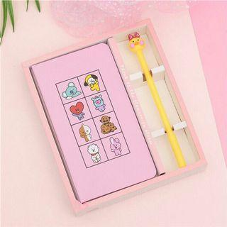 BT21 Handy Notebook + Cute Pen❤PREORDER❤